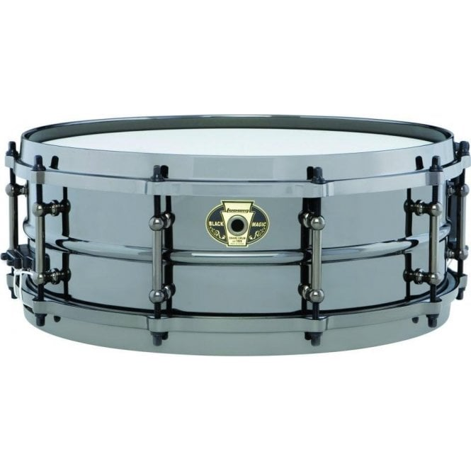 Ludwig Black Magic 14x6.5 Snare Drum LW6514 | Buy at Footesmusic