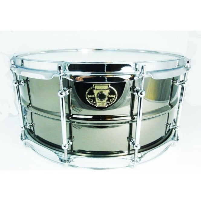 Ludwig Black Magic Chrome 13x7 Snare Drum LW0713C | Buy at Footesmusic