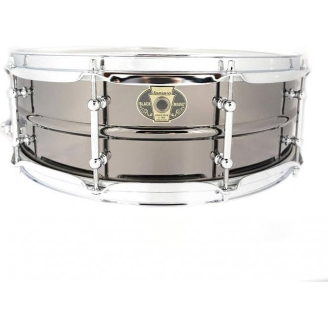 Ludwig Black Magic Chrome 14x5.5 Snare Drum LW5514C | Buy at Footesmusic