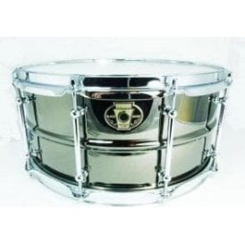 Ludwig Black Magic Chrome 14x6.5 Snare Drum