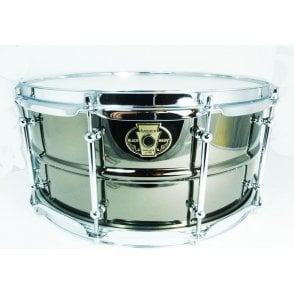 Ludwig Black Magic Chrome 14x8 Snare Drum