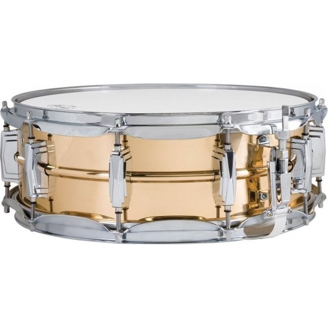Ludwig Bronze 14 x 5 Hammered Supraphonic Snare Drum LB550K | Buy at Footesmusic