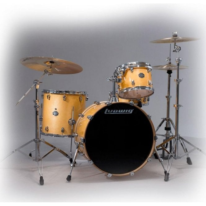 Ludwig Element Birch Drum Kit With or Without Atlas Stands Pack