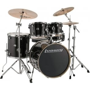 Ludwig Evolution Series Drum Kit With Stands (or without)