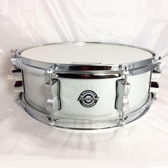 Ludwig Questlove Breakbeat 14x5 Snare Drum - White Sparkle