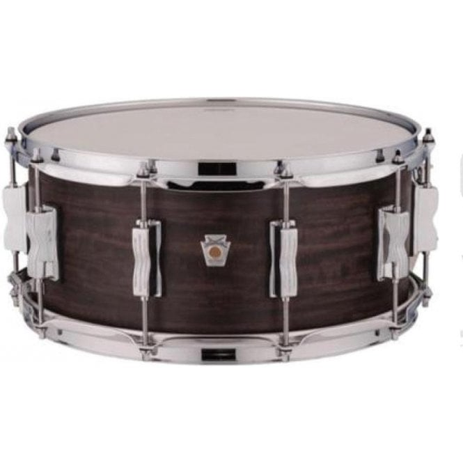 Ludwig USA Standard Maple 14x6.5 Snare Drum - Coal Finish LKS764XX3C | Buy at Footesmusic