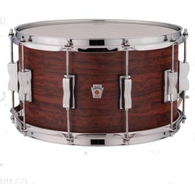 Ludwig USA Standard Maple 14x8 Snare Drum - Brandy Finish LKS784XX3B | Buy at Footesmusic