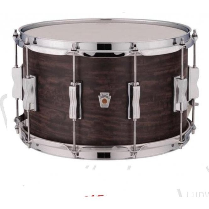 Ludwig USA Standard Maple 14x8 Snare Drum - Coal Finish LKS784XX3C | Buy at Footesmusic