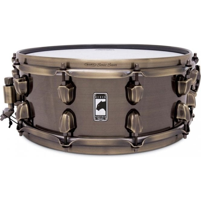 Mapex Black Panther 'Brass Cat' 14x5.5 BPBR4551ZN | Buy at Footesmusic
