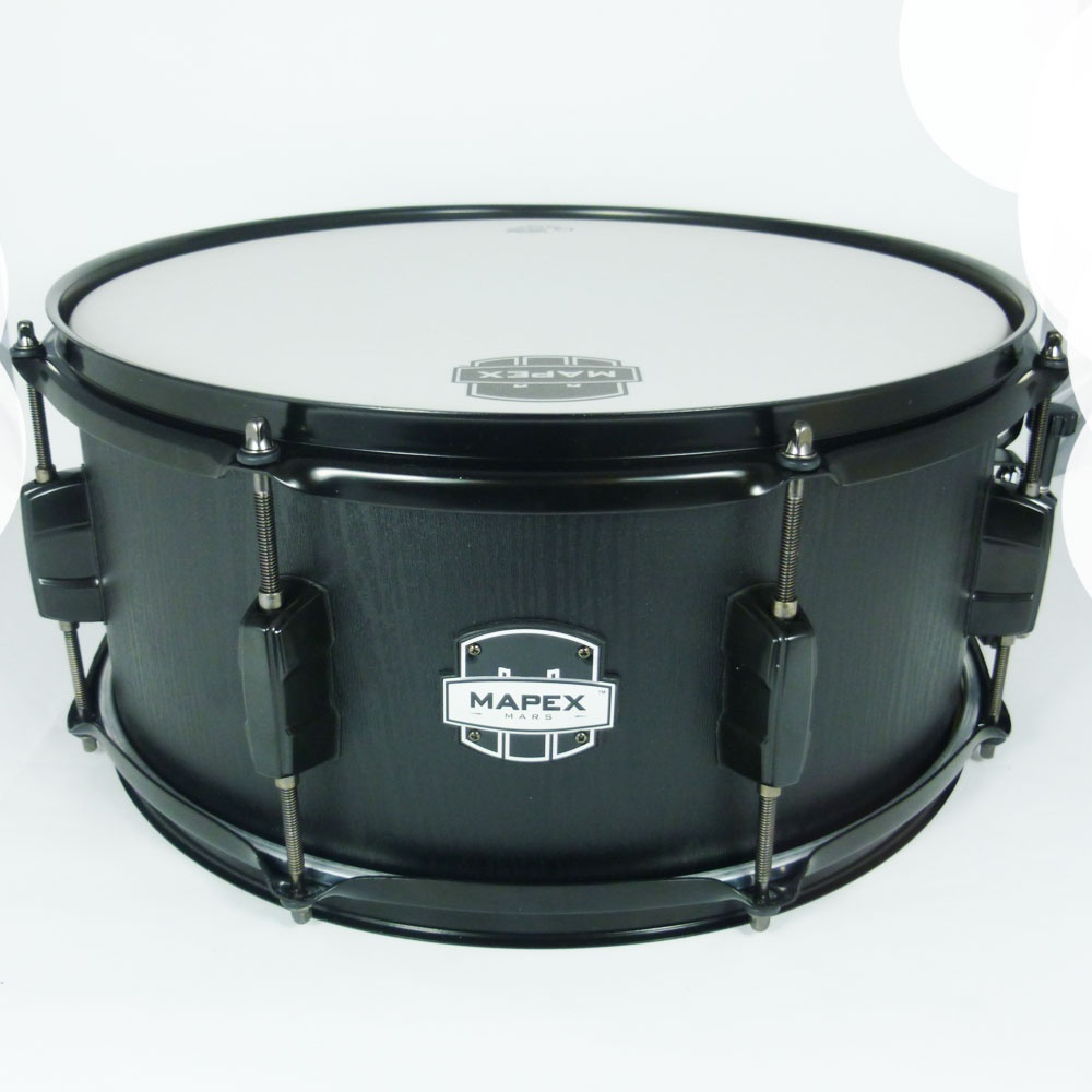 mapex mars snare drum with black fittings at uk stockist footesmusic. Black Bedroom Furniture Sets. Home Design Ideas