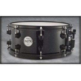 Mapex MPX 13x6 Maple Snare Drum Black with Black fittings MPML3600BMB | Buy at Footesmusic