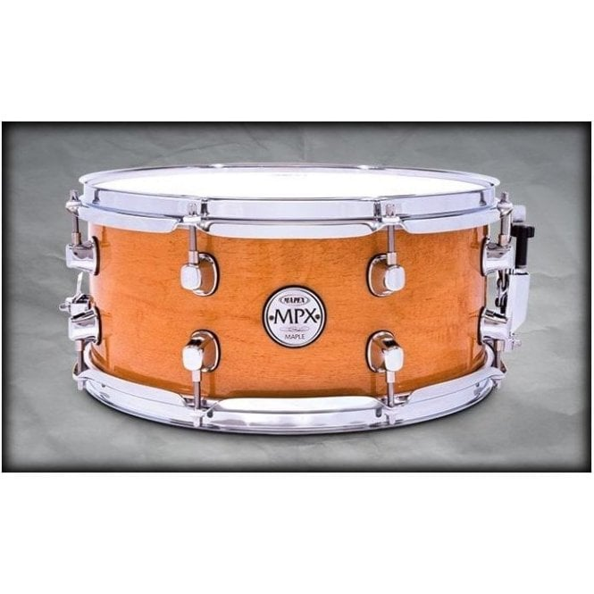 Mapex MPX 13x6 Maple Snare Drum Natural with Chrome