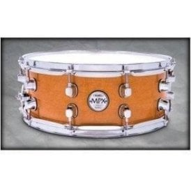 Mapex MPX 14x5.5 Maple Snare Drum Natural with Chrome