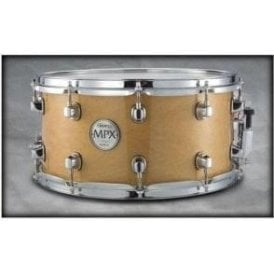 Mapex MPX 14x7 Maple Snare Drum Natural with Chrome MPML4700CNL | Buy at Footesmusic