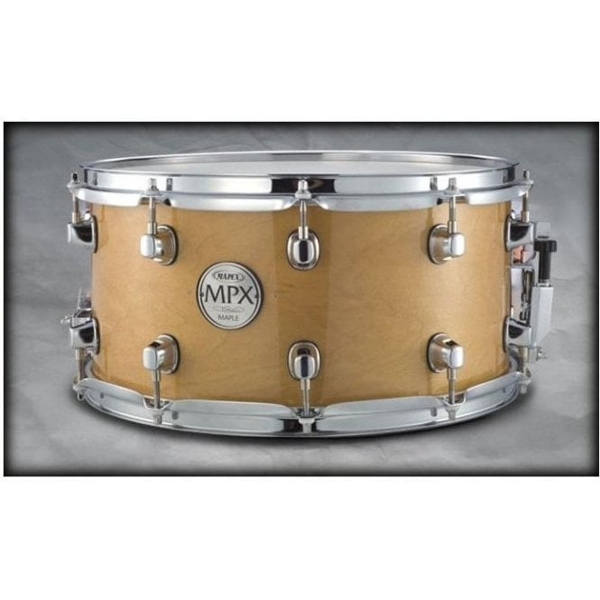 Mapex MPX 14x7 Maple Snare Drum Natural with Chrome