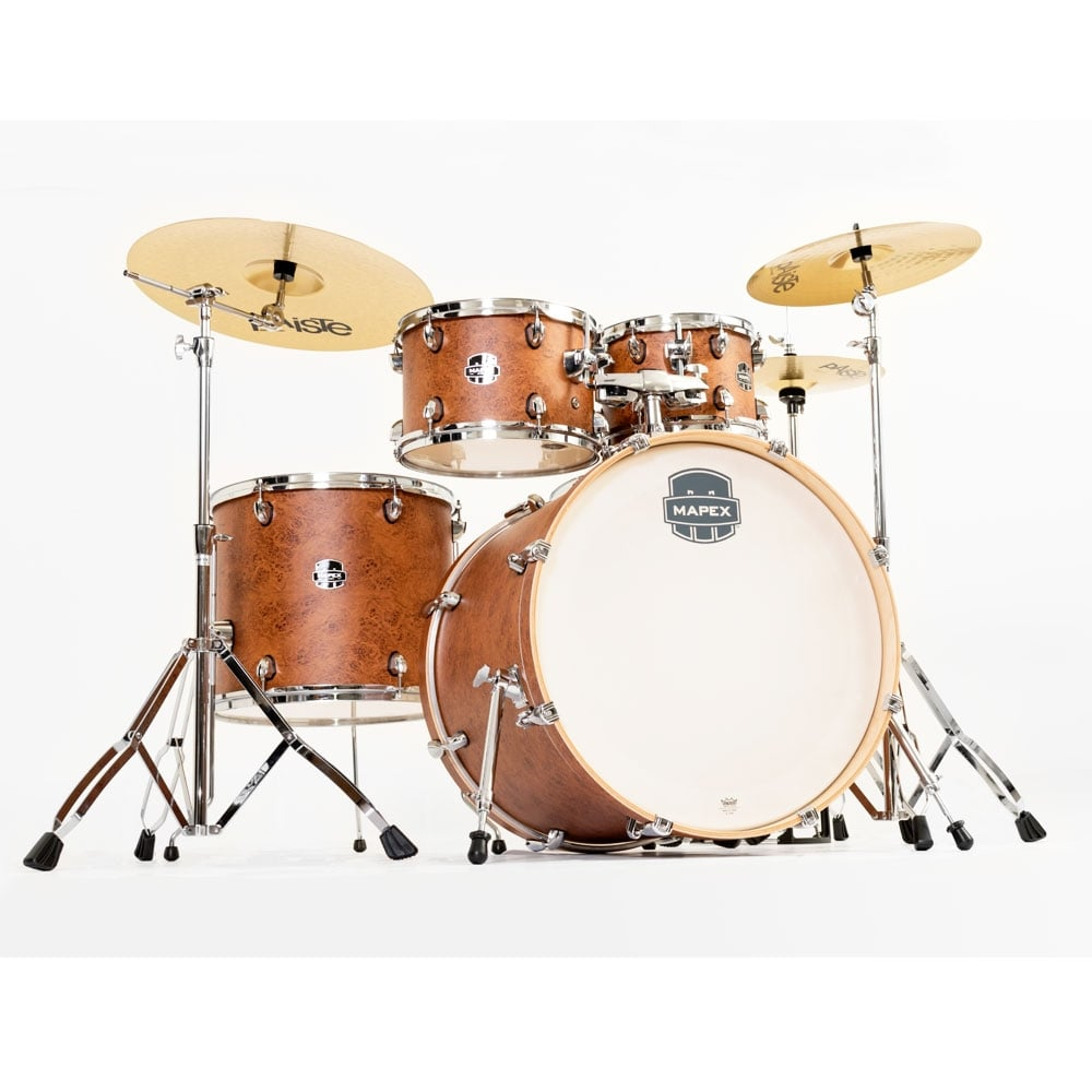 mapex storm drum kit with cymbals at uk stockist footesmusic
