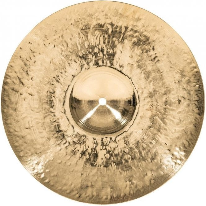 "Meinl Byzance Brilliant Heavy Hammered 14"" Hi Hat Cymbals B14HHHB 