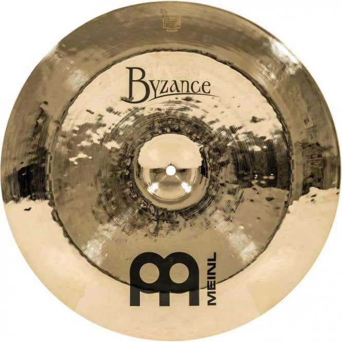 "Meinl Byzance Brilliant Heavy Hammered 18"" China Cymbal B18HHCHB 