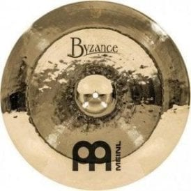 "Meinl Byzance Brilliant Heavy Hammered 18"" China Cymbal"