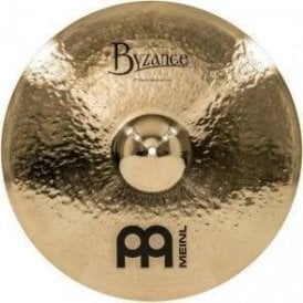 "Meinl Byzance Brilliant Heavy Hammered 22"" Crash Cymbal"