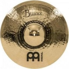 "Meinl Byzance Brilliant Heavy Hammered 22"" Ride Cymbal"