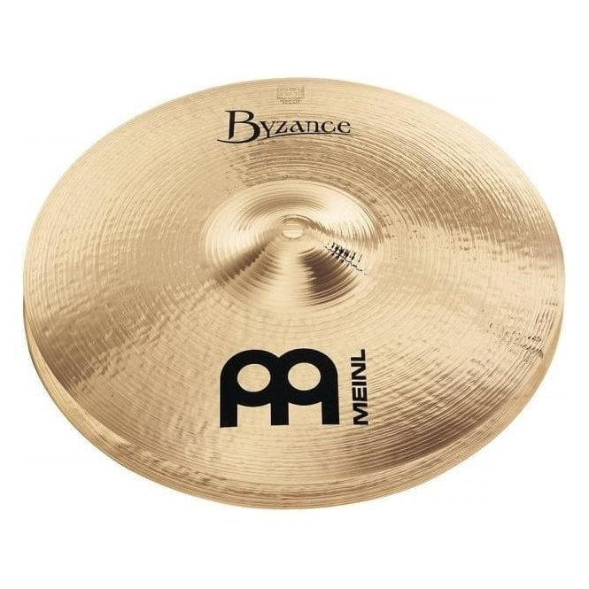 "Meinl Byzance Brilliant Medium 13"" Hi Hat Cymbals B13MHB 