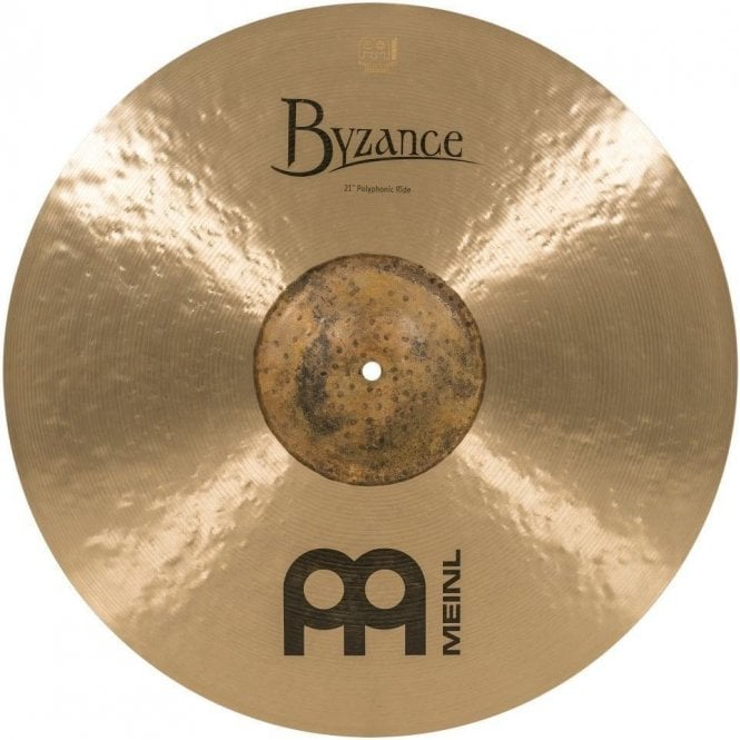"Meinl Byzance Traditional 21"" Polyphonic Ride Cymbal B21POR 