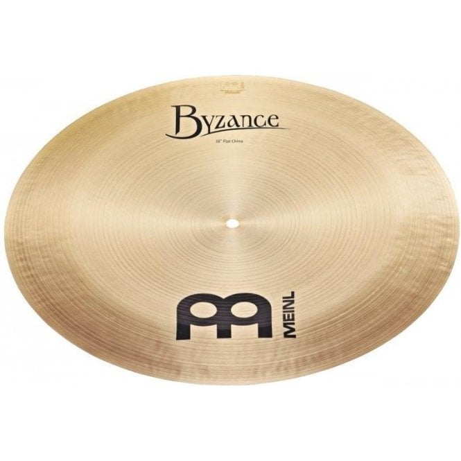 "Meinl Byzance Traditional Flat 18"" China Cymbal B18FCH 