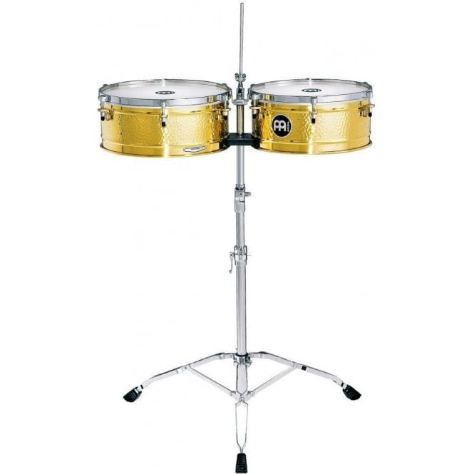 Meinl LC1Brass Timbales- Luis Conte Brass