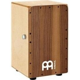 Meinl SCP100WN Snarecraft Cajon with Walnut Frontplate