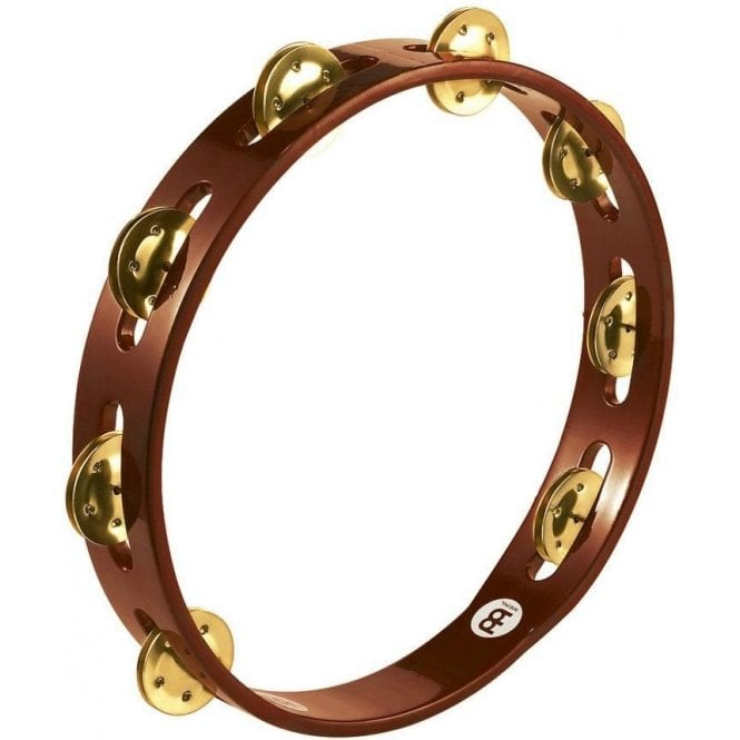 Meinl TA1BAB Tambourine - Single Row Brass Jingles