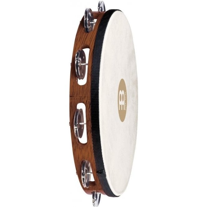 Meinl TAH1AB Tambourine - Headed Single Row Steel Jingles