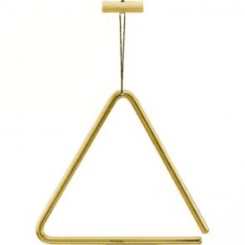 "Meinl TRI15B 6"" Brass Triangle Inc Beater"