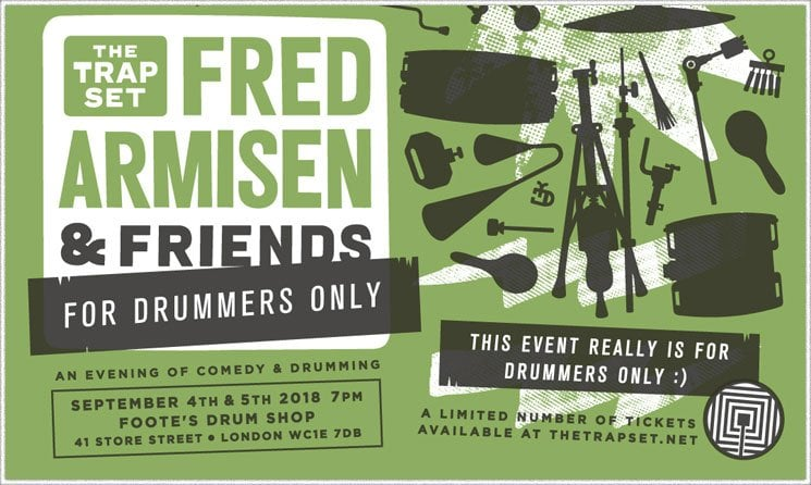 Fred Armisen Drummers Only