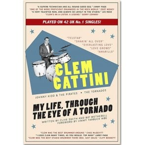 My Life, Through The Eye Of A Tornado - Clem Cattini Book