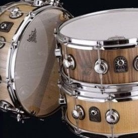 Natal Pure Stave Shell Snare Drums - Walnut, Ash or Maple - UK Made