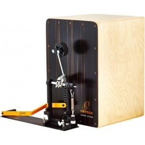 Ortega OSTBCJBU Cajon & Pedal Pack With Cases