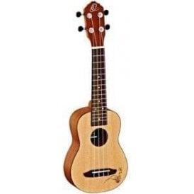 Ortega RU5SO RU Series Soprano Ukulele
