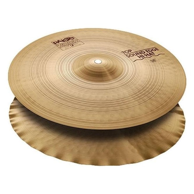 "Paiste 2002 13"" Sound Edge Hi Hat Cymbals P002SHH13 