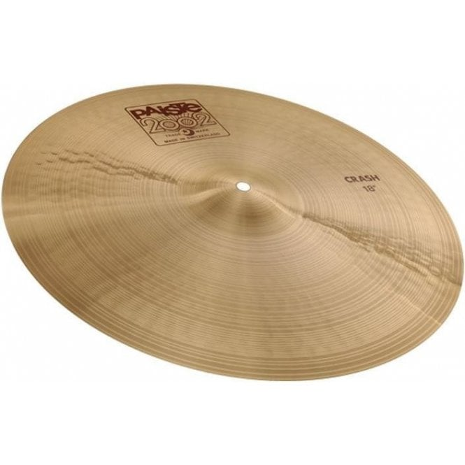 "Paiste 2002 18"" Crash Cymbal"