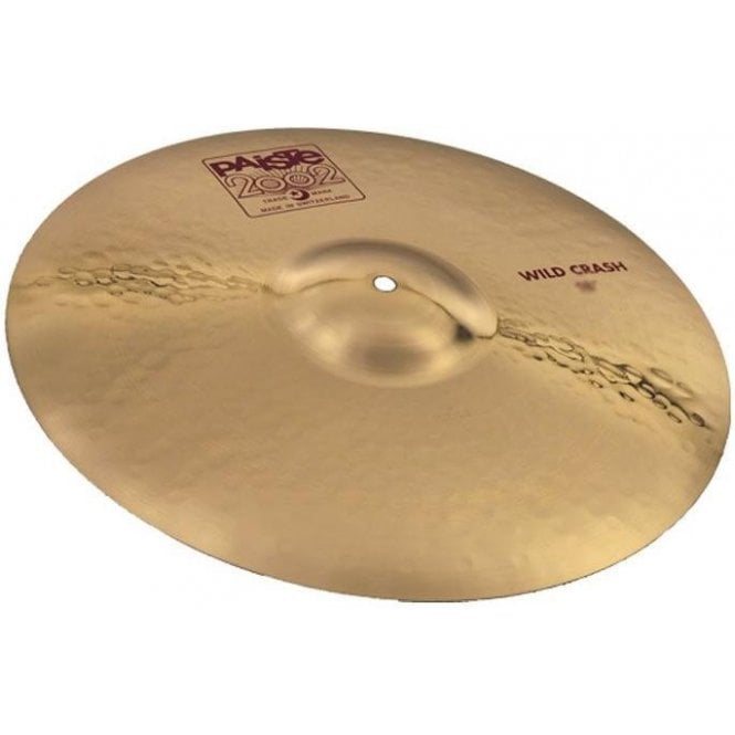 "Paiste 2002 18"" Wild Crash Cymbal P002WCR18 