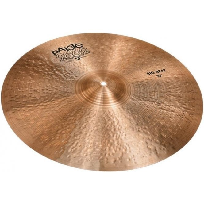 "Paiste 2002 19"" Black Label Big Beat Cymbal"