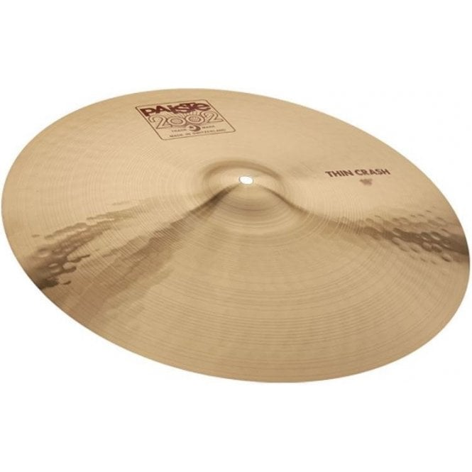 "Paiste 2002 19"" Thin Crash Cymbal"