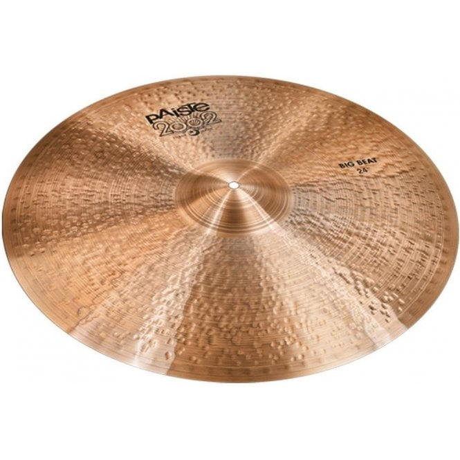 "Paiste 2002 24"" Black Label Big Beat Cymbal P002BBT24 