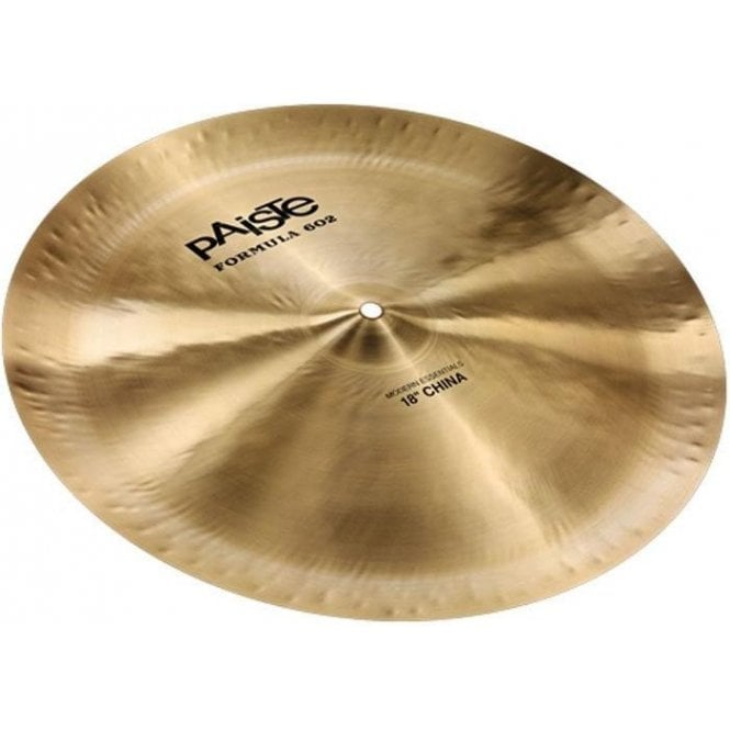 "Paiste 602 Modern Essential 18"" China Cymbal"