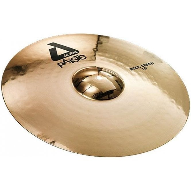 "Paiste Alpha 18"" Rock Crash Cymbal"