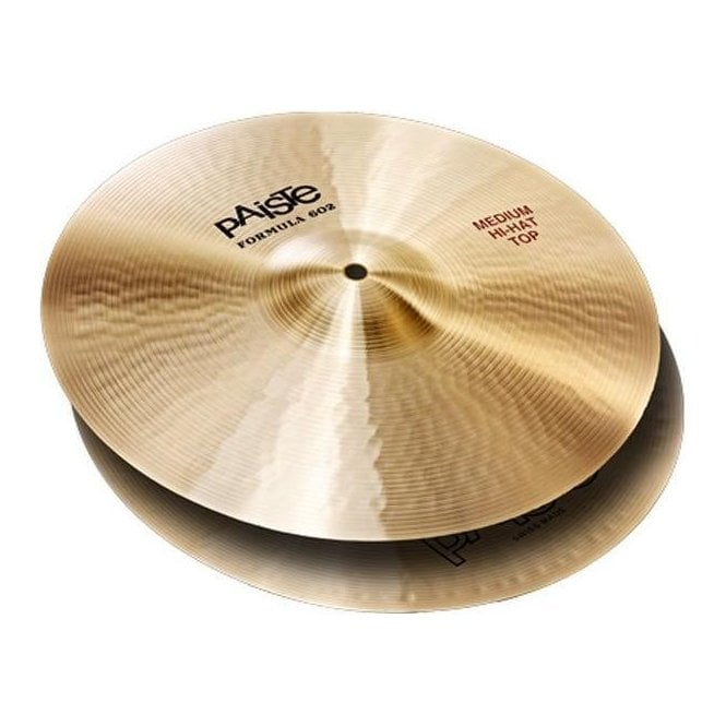 "Paiste Formula 602 15"" Medium Hi Hat Cymbals (pair)"