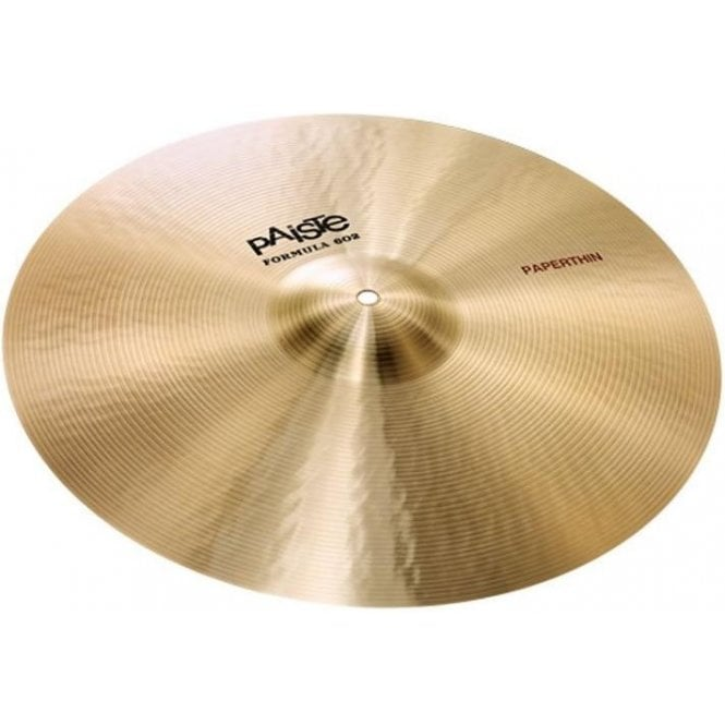 "Paiste Formula 602 16"" Paper Thin Crash Cymbal"