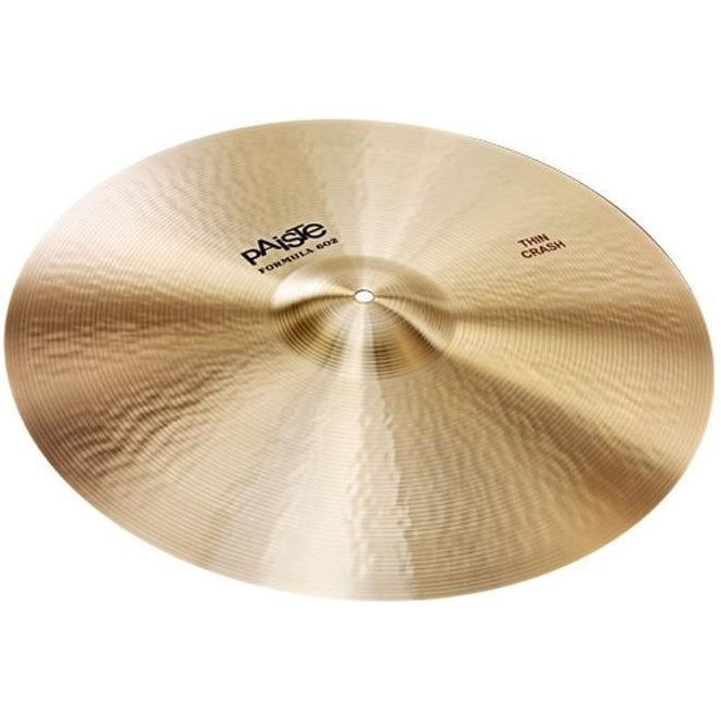 "Paiste Formula 602 18"" Thin Crash Cymbal"