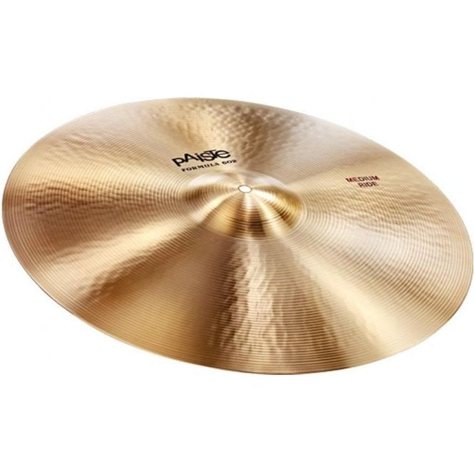 "Paiste Formula 602 20"" Ride Cymbal P602MEDRD20 